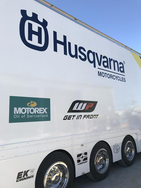 DPH Husqvarna Race Transporter is READY