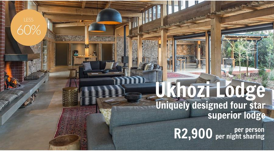 Hugely Discounted Specials at Ukhozi Lodge
