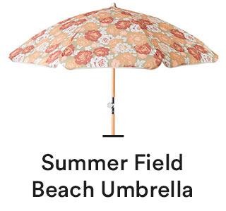 Summer Field Beach Umbrella