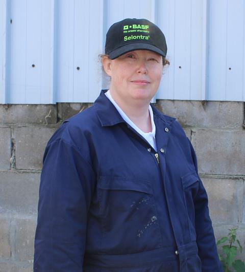 Helen Hall, BASF pest specialist
