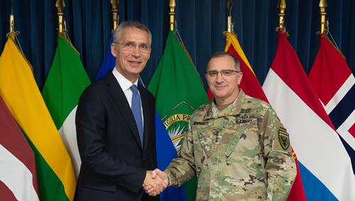 NATO Secretary General discusses adaptation with military commanders