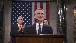 NATO Secretary General addresses historic Joint Meeting of the United States Congress