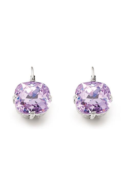 Gypsy Rose Lavender Drop Earrings (E941)