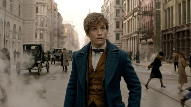 "Eddie Redmayne in ""Fantastic Beasts and where to find them."""