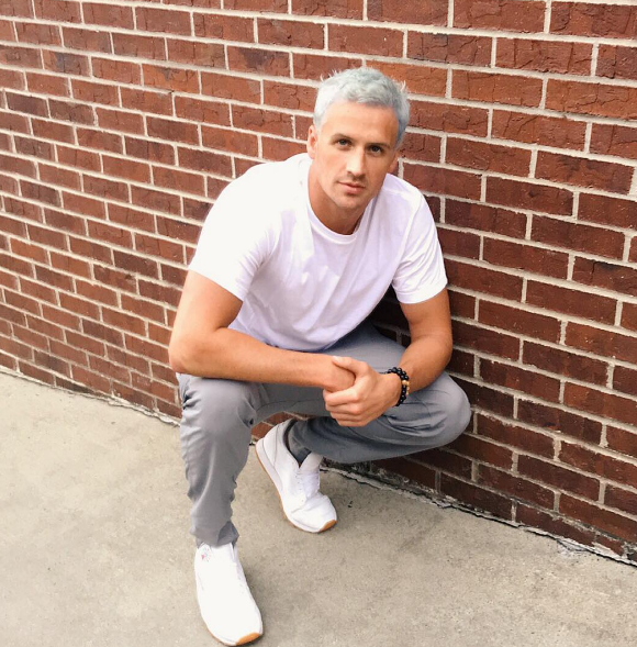 Ryan Lochte is ~winning~ with his new hair.