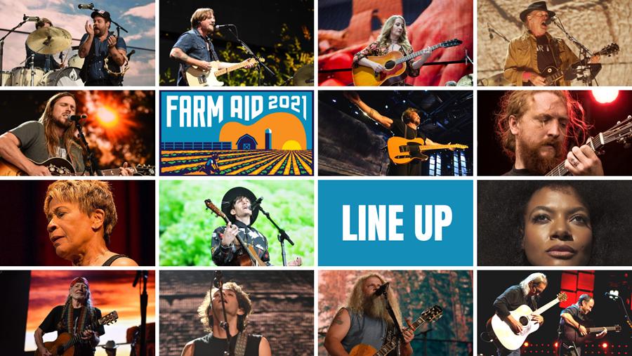 Farm Aid 2021 Artists