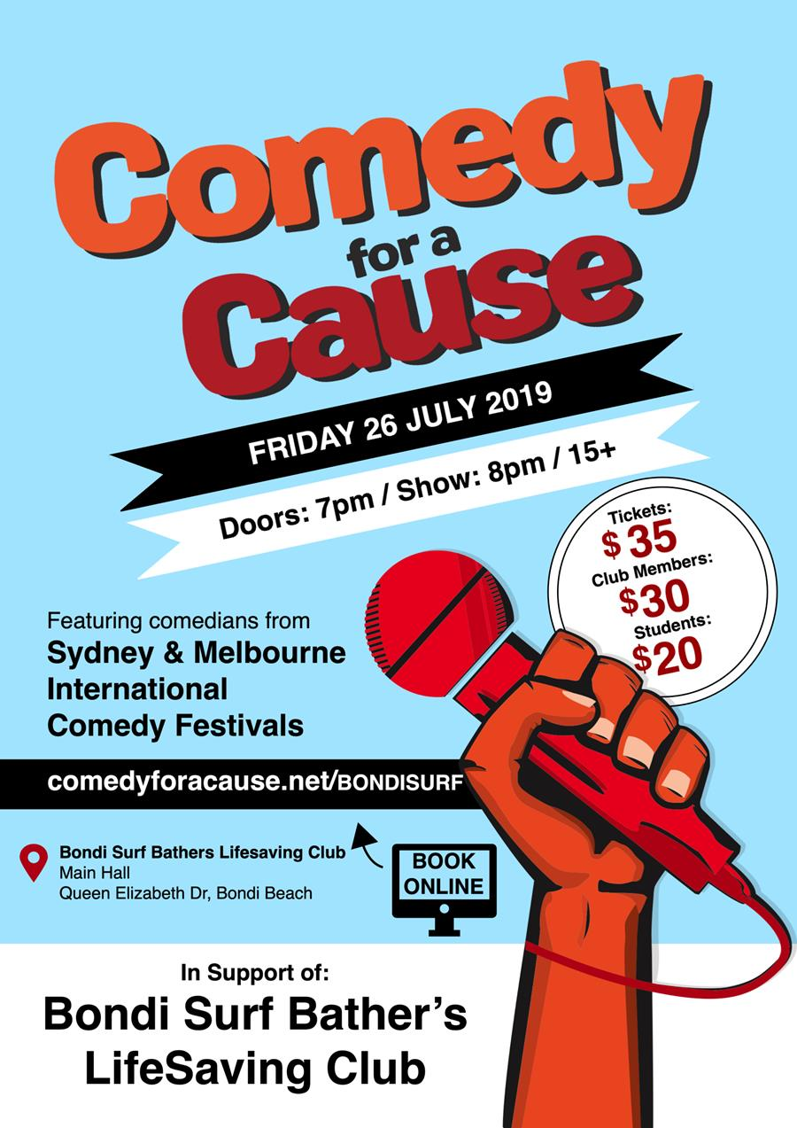 Comedy Night at Bondi Surf Club