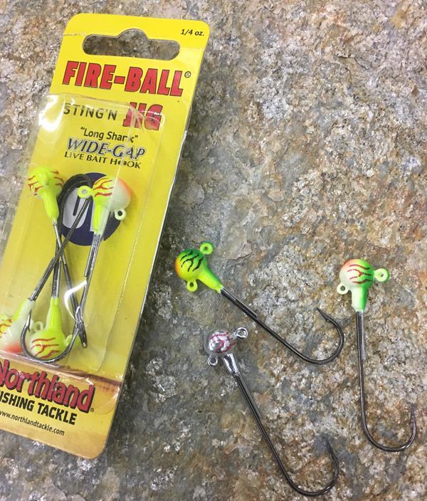 Long Shank Fire-Ball Jigs